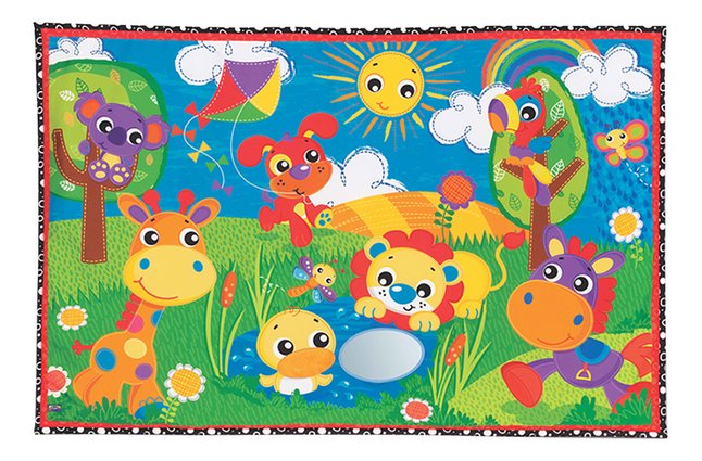Afbeelding van Playgro speeltapijt Party in the park Jumbo mat from DreamLand