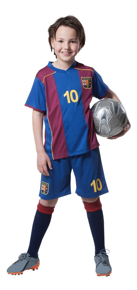 Afbeelding van Voetbaloutfit FC Barcelona rood/blauw from DreamLand