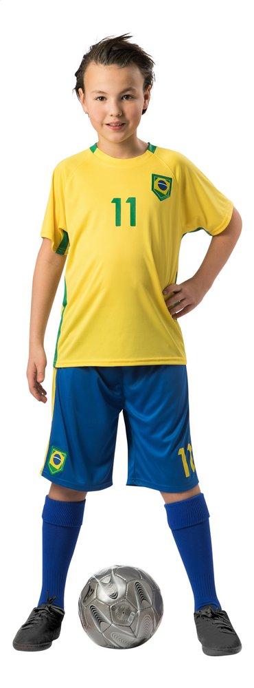 Afbeelding van Voetbaloutfit Brazilië geel/blauw from DreamLand