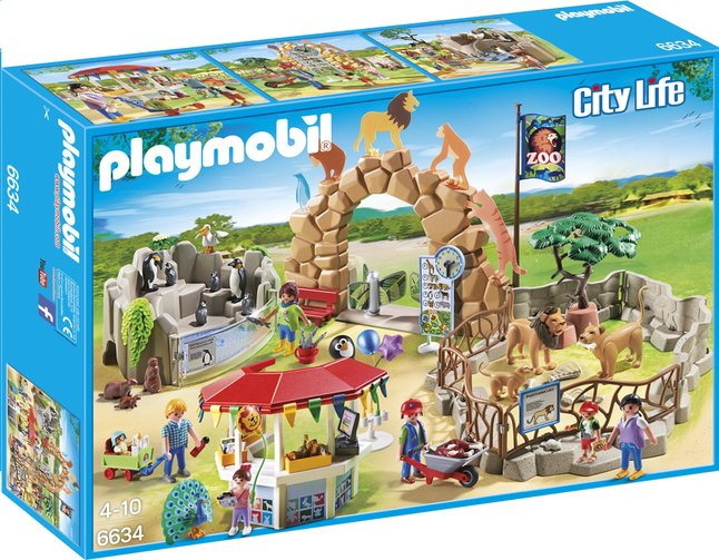 Image pour Playmobil City Life 6634 Grand zoo à partir de DreamLand