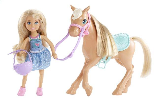 Afbeelding van Barbie speelset Club Chelsea: Chelsea & Pony from DreamLand