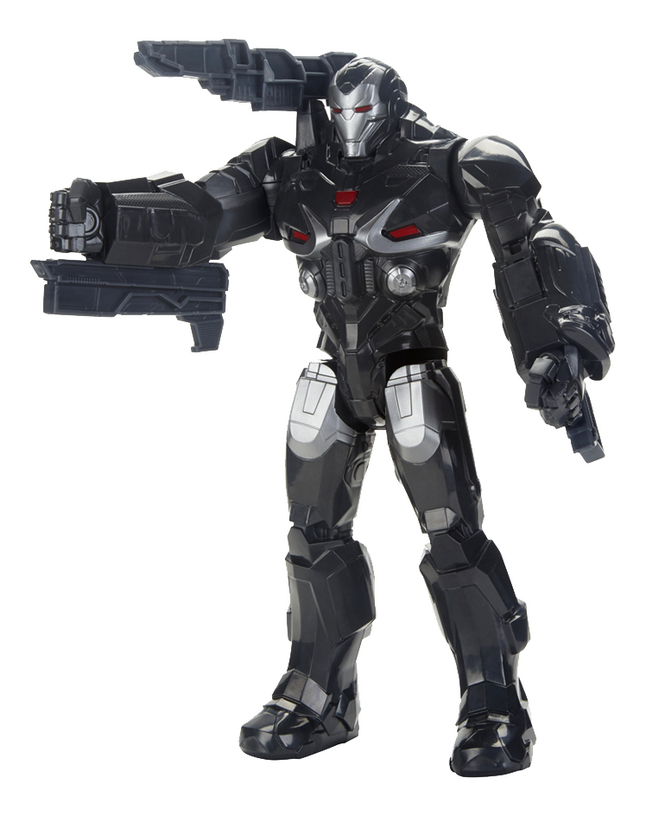 Afbeelding van Hasbro actiefiguur Avengers Titan Hero Series War Machine from DreamLand