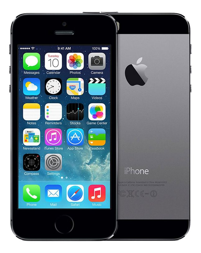 Image pour Apple iPhone 5s 16 Go gris à partir de DreamLand