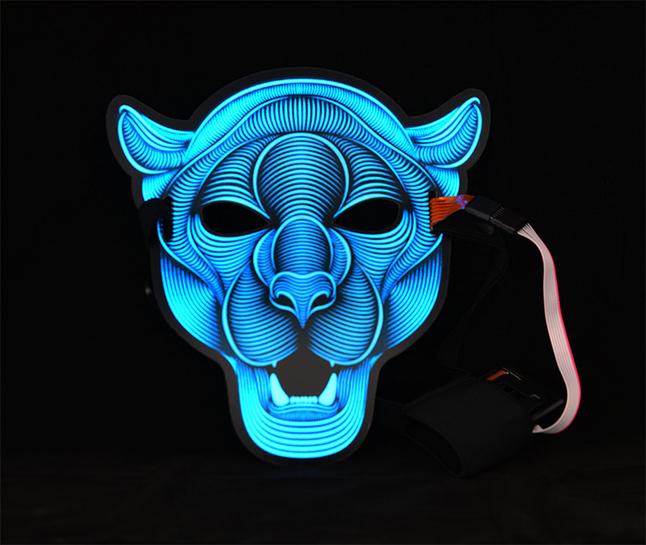 Goodmark masque Panter Sound Reactive