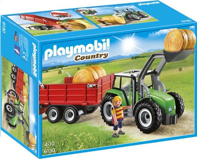 Image pour PLAYMOBIL Country 6130 Tracteur avec pelle et remorque à partir de DreamLand