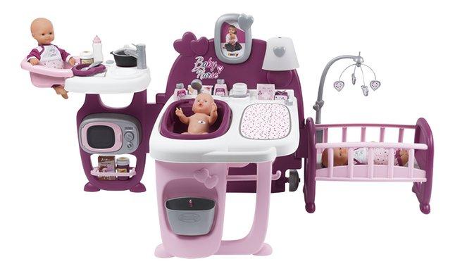 Smoby table à langer Baby Nurse 3 en 1