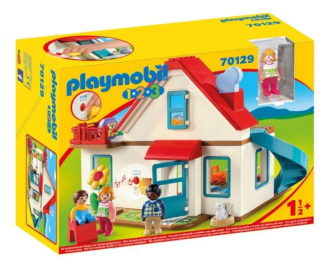 PLAYMOBIL 1.2.3 70129 Maison familiale