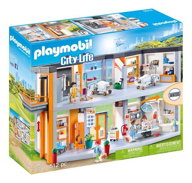 PLAYMOBIL City Life 70190 Hôpital aménagé