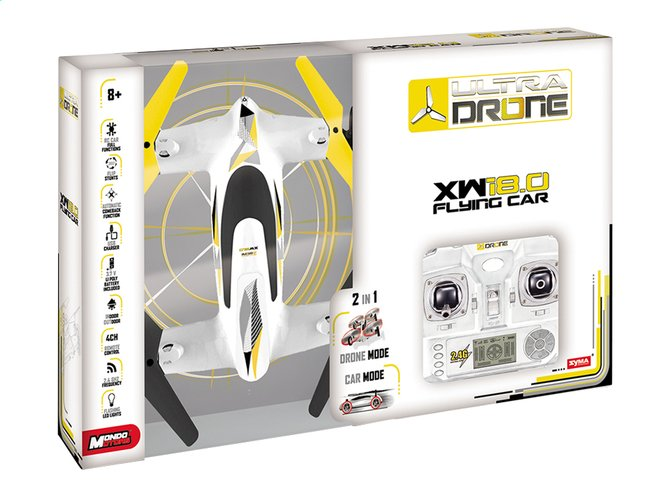Afbeelding van Mondo drone XW18.0 Flying Car from DreamLand