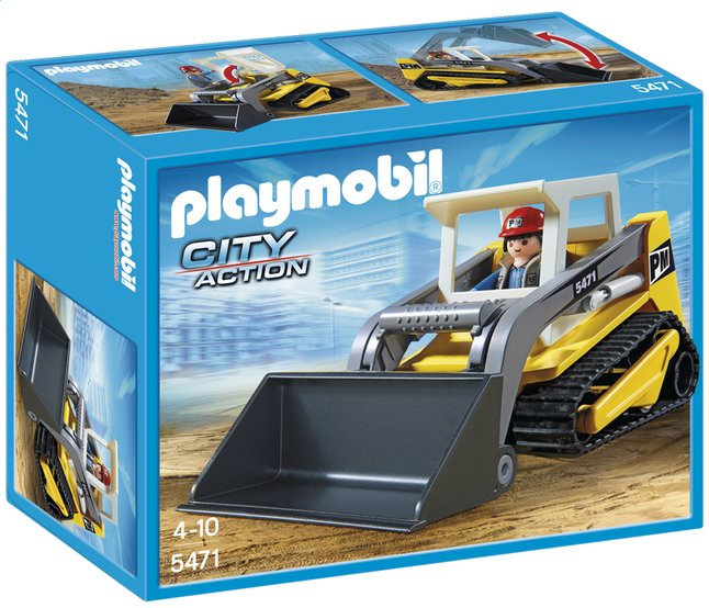 Afbeelding van Playmobil City Action 5471 Rups bulldozer from DreamLand