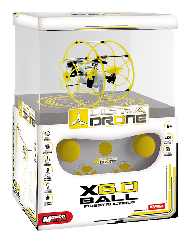 Image pour Mondo drone X6.0 Ball Indestructible à partir de DreamLand