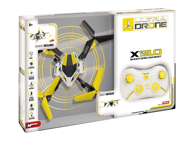 Afbeelding van Mondo Drone X19.0 Shooting & Basket from DreamLand