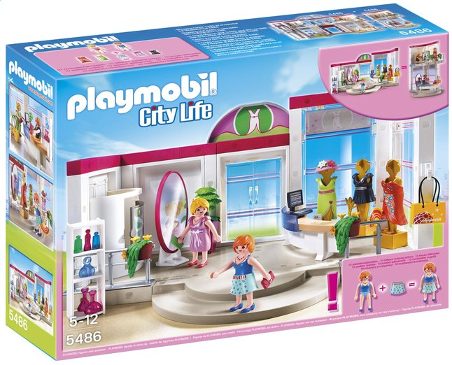 Image pour Playmobil City Life 5486 Boutique de vêtements à partir de DreamLand