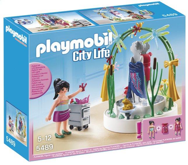 Image pour Playmobil City Life 5489 Styliste avec podium lumineux à partir de DreamLand