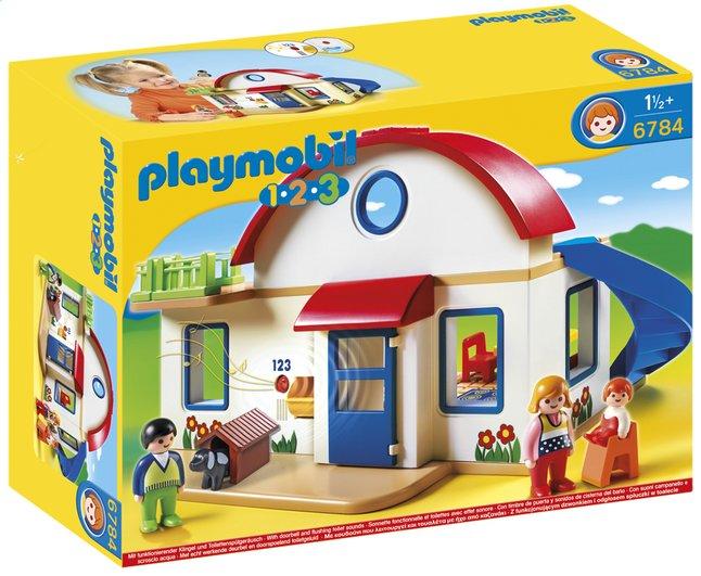 Afbeelding van Playmobil 1.2.3 6784 Woonhuis from DreamLand