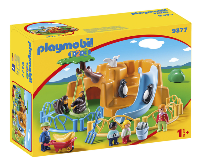 Image pour PLAYMOBIL 1.2.3 9377 Parc animalier à partir de DreamLand