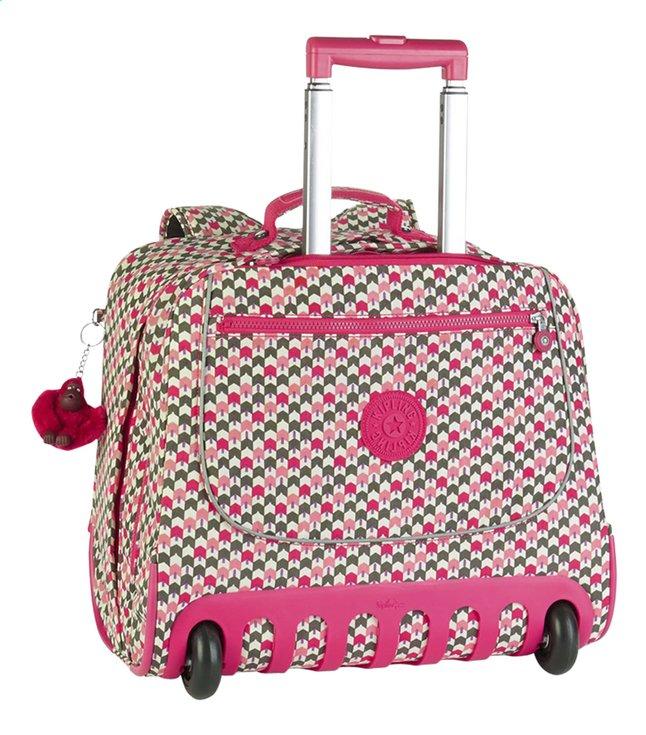 Afbeelding van Kipling trolley-boekentas Clas Dallin Latin Mix Pink 42,5 cm from DreamLand