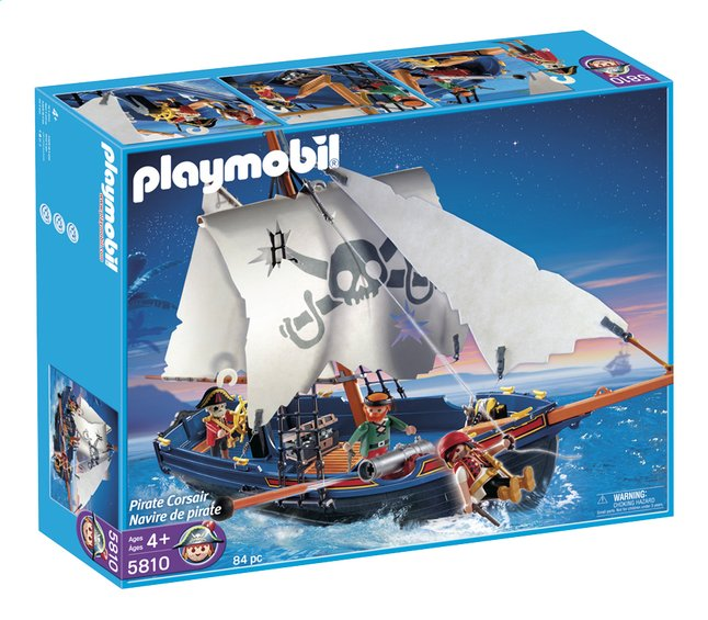 Afbeelding van Playmobil Pirates 5810 Pirate Corsair from DreamLand