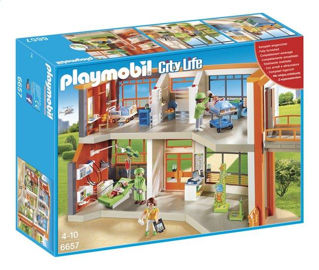 Image pour PLAYMOBIL City Life 6657 Hôpital pédiatrique aménagé à partir de DreamLand