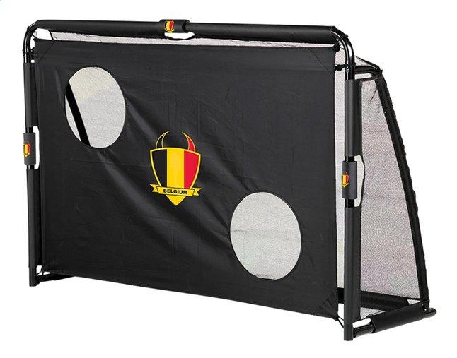 Afbeelding van EXIT voetbaldoel met doeltrainingswand Maestro België zwart from DreamLand