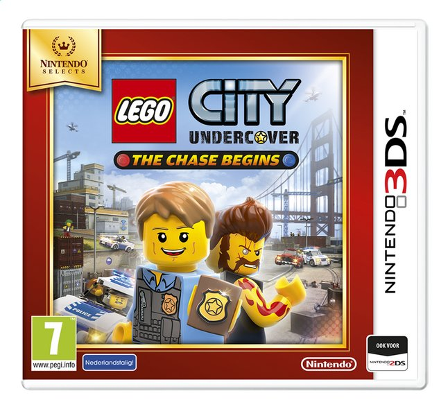 Afbeelding van Nintendo 3DS LEGO City: Undercover - The Chase Begins Selects NL from DreamLand