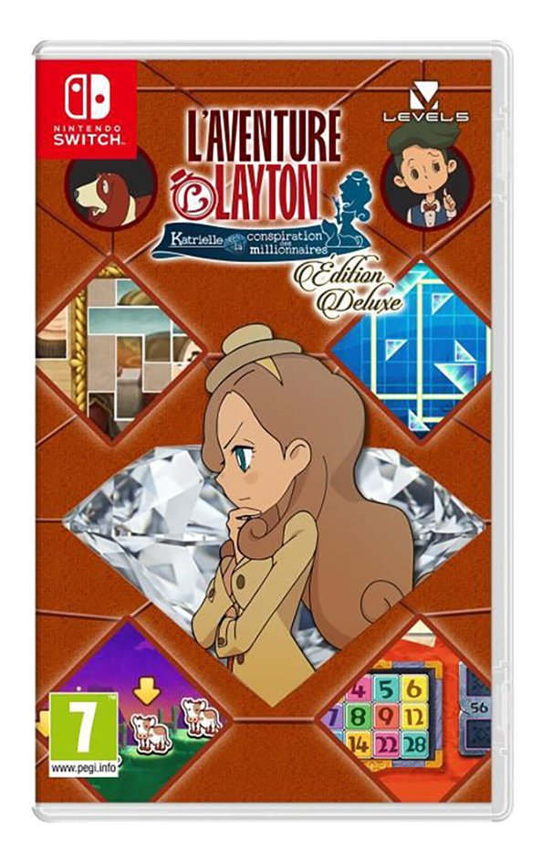 Image pour Nintendo Switch L'aventure Layton : Katrielle et la conspiration des millionnaires - Édition Deluxe FR à partir de DreamLand
