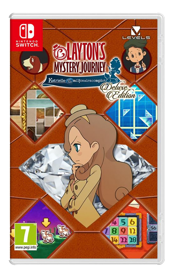 Nintendo Switch Layton's Mystery Journey Katrielle and the Millionaires' Conspiracy - Deluxe Edition ANG