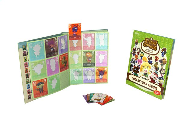 Afbeelding van Animal Crossing Collectors Album amiibo Cards - Serie 1 from DreamLand