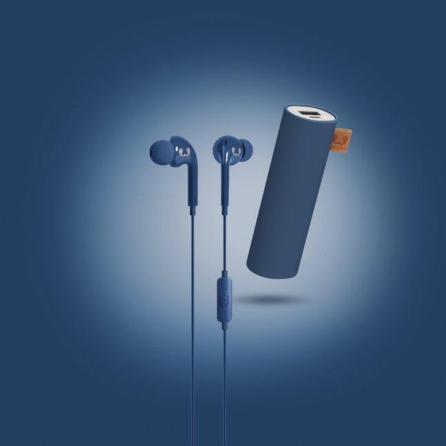 Image pour Fresh 'n Rebel Powerbank + écouteurs Indigo à partir de DreamLand