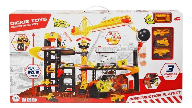 Dickie Toys set de jeu Construction