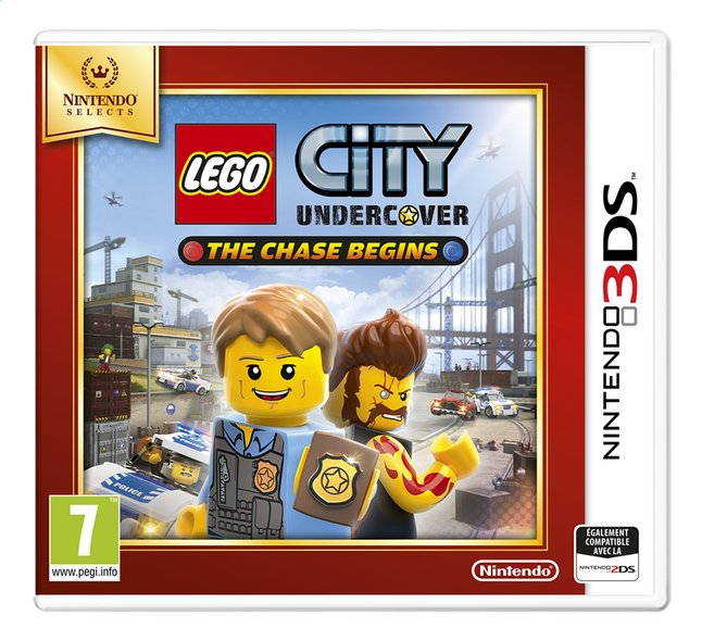 Afbeelding van Nintendo 3DS LEGO City: Undercover - The Chase Begins Selects FR from DreamLand