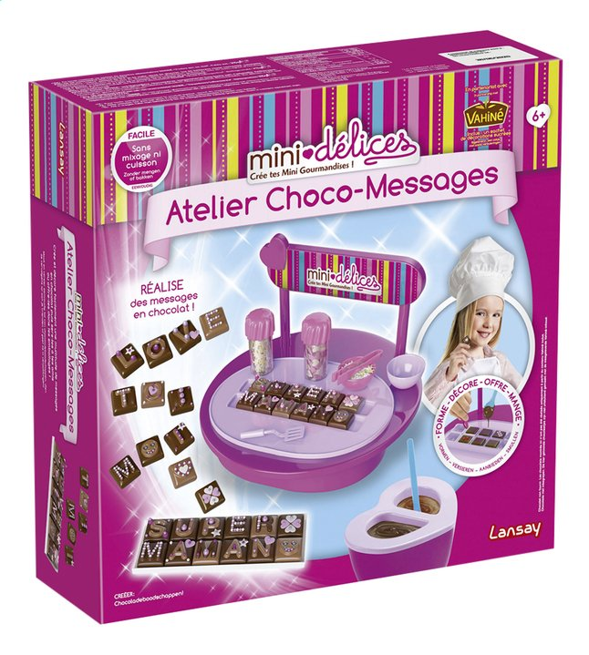 Afbeelding van Lansay Mini délices Atelier Choco-Messages from DreamLand