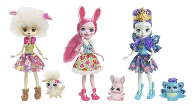 Afbeelding van Enchantimals speelset 3 figuren Friendship set - 15 cm from DreamLand