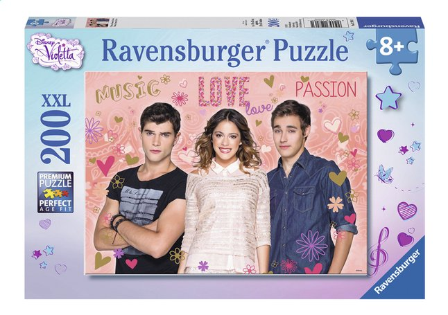 Afbeelding van Ravensburger XXL puzzel Disney Violetta Tomas & Leon from DreamLand