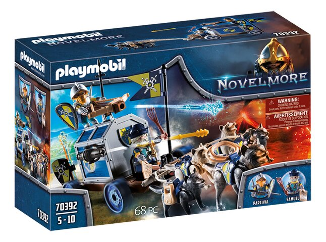 PLAYMOBIL Novelmore 70392 Schattentransport