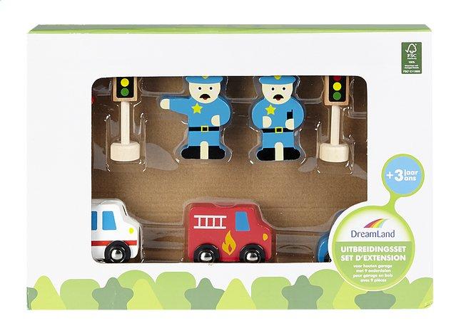 Afbeelding van DreamLand uitbreidingsset voor houten garage 9 stukjes from DreamLand