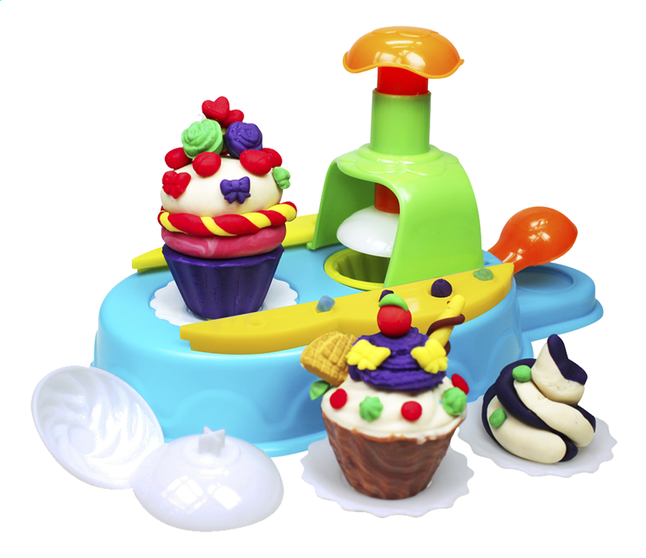 Afbeelding van Kid's Dough Cupcake Station from DreamLand