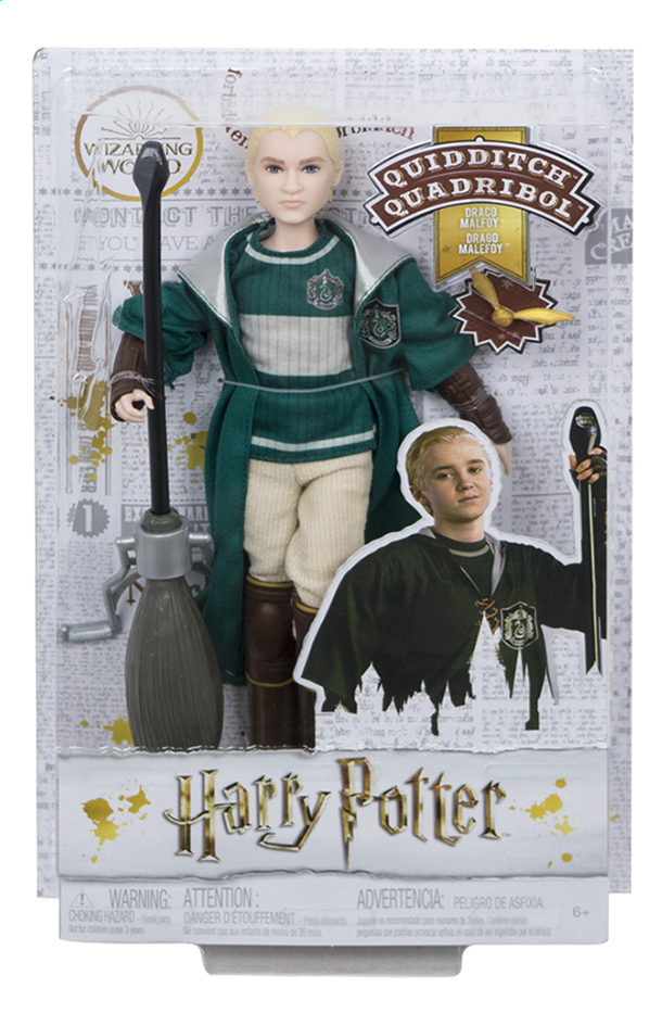 Afbeelding van Harry Potter figuur Draco Malfoy Quidditch from DreamLand