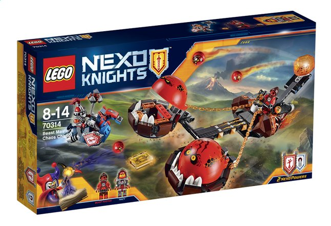 Afbeelding van LEGO Nexo Knights 70314 Chaoskoets from DreamLand