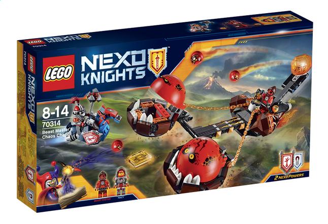 Image pour LEGO Nexo Knights 70314 Le chariot du chaos du Maître des bêtes à partir de DreamLand