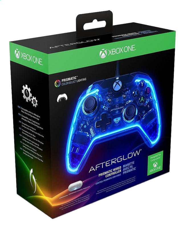 Afbeelding van XBOX One controller PDP Prismatic Wired Afterglow from DreamLand