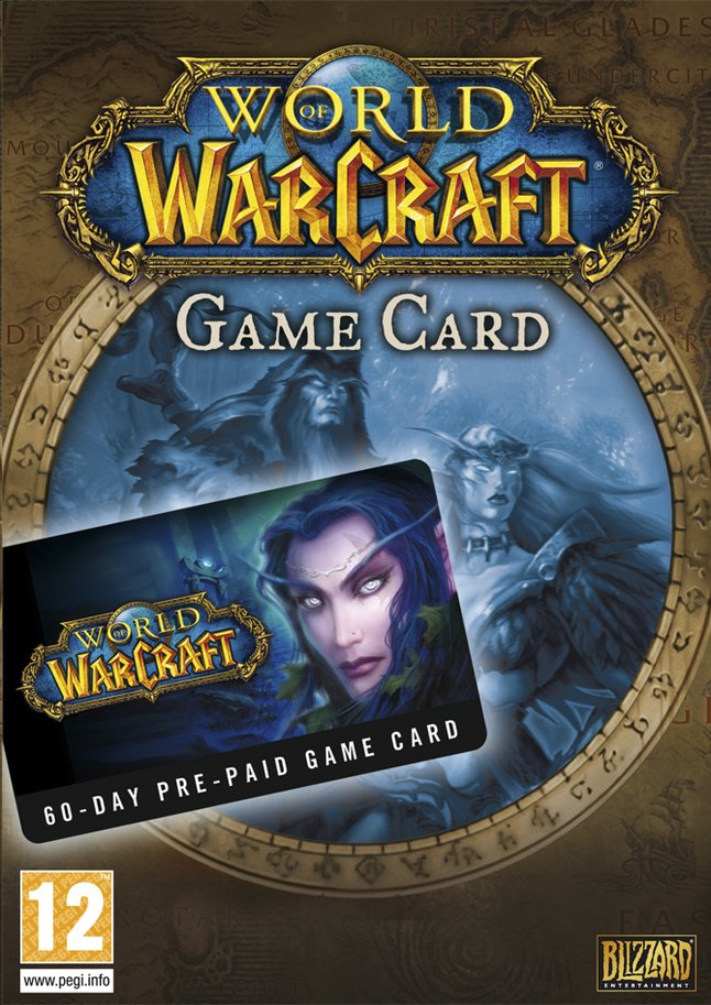 Afbeelding van Pc World of Warcraft: Prepaid Card 60 Days ENG from DreamLand