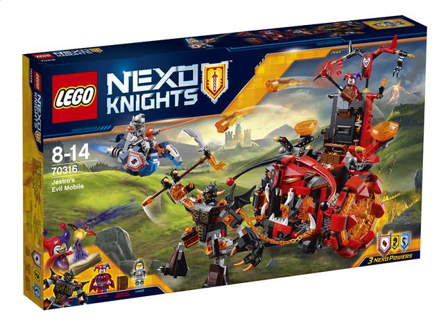 Image pour LEGO Nexo Knights 70316 Le char maléfique de Jestro à partir de DreamLand