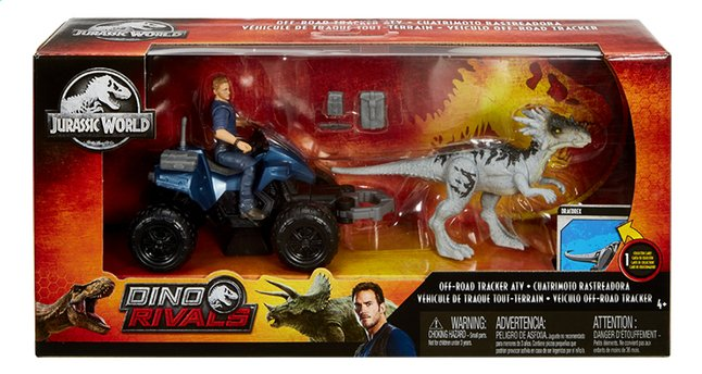 Afbeelding van Jurassic World speelset Off-Road Tracker ATV from DreamLand
