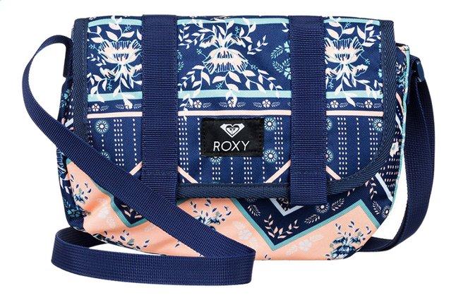 Afbeelding van Roxy schoudertas Back On You  Med Blue Newport Border sw from DreamLand