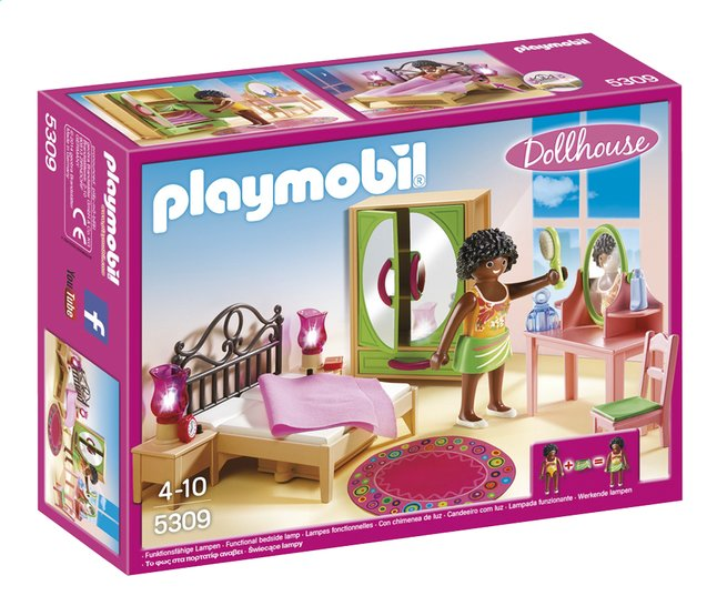 Image pour PLAYMOBIL Dollhouse 5309 Chambre d'adulte avec coiffeuse à partir de DreamLand