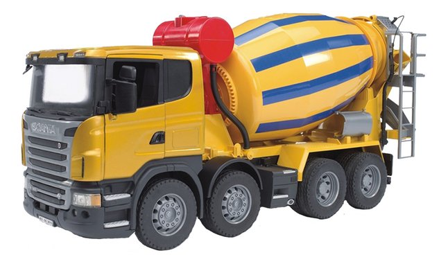 Afbeelding van Bruder vrachtwagen betonmixer Scania from DreamLand