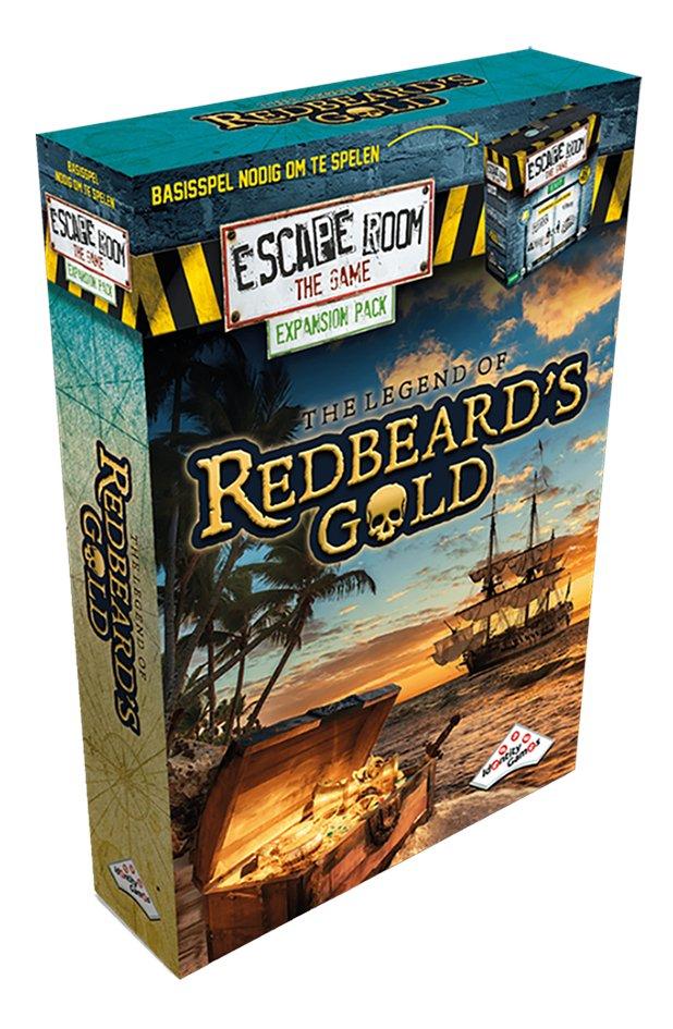 Afbeelding van Escape Room The Game uitbreiding The legend of Redbeard's Gold from DreamLand