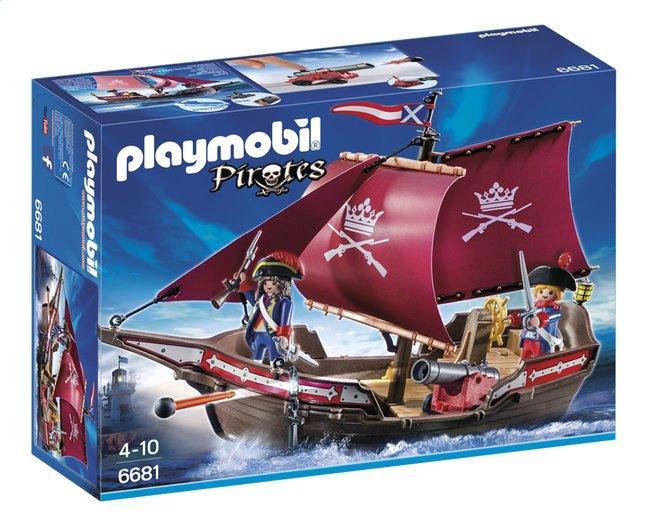 Afbeelding van Playmobil Pirates 6681 Soldatenzeilschip met kanonnen from DreamLand