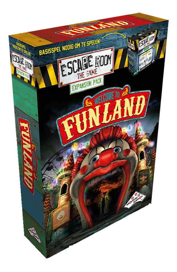 Escape Room The Game uitbreiding Funland